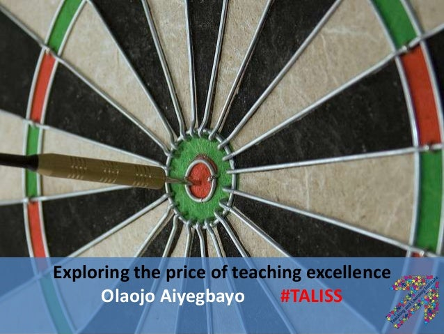 Exploring the price of teaching excellence