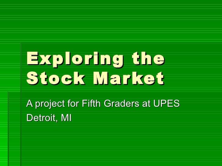 Exploring The Stock Market