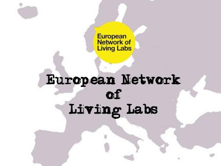 Living Lab Expo ENoLL presentatio