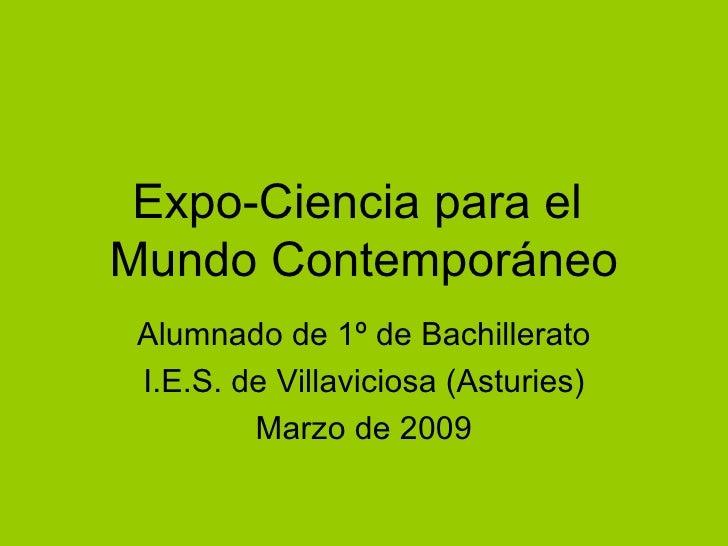 Expo Ciencia
