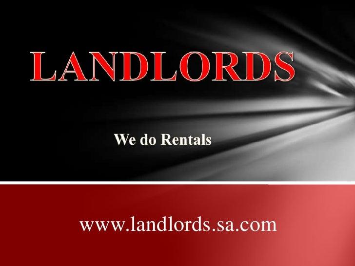 Landlords Info