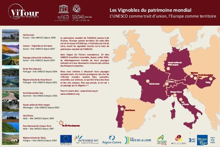 Les Vignobles du patrimoine mondial                                                                                       ...
