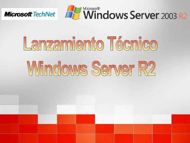 Expo  Windows2003  R2