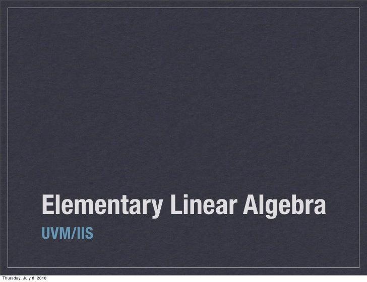 Expo Algebra Lineal
