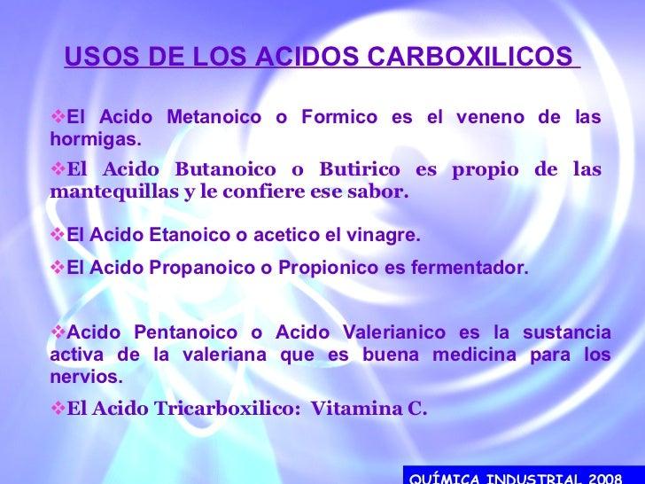 Imagenes de Los Acidos Carboxilicos de Los Acidos Carboxilicos