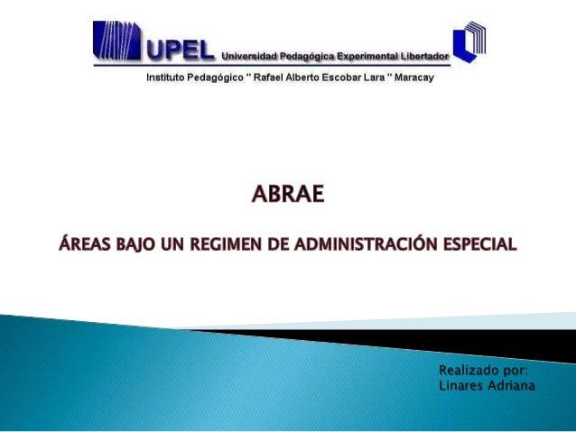 Realizado por: Linares Adriana