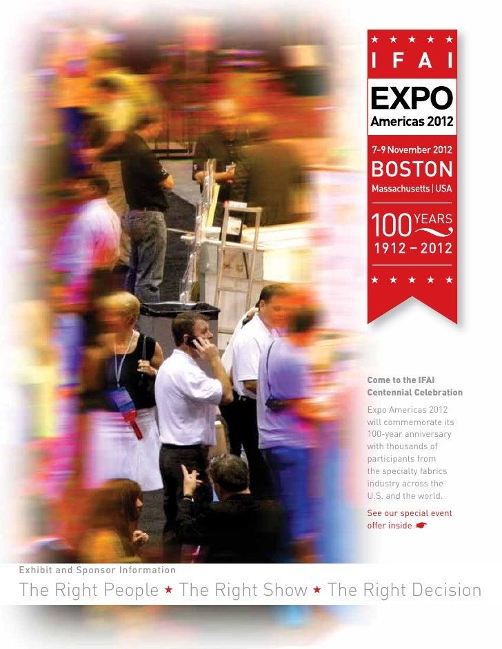 Expo Americas 2012 Exhibitor Prospectus
