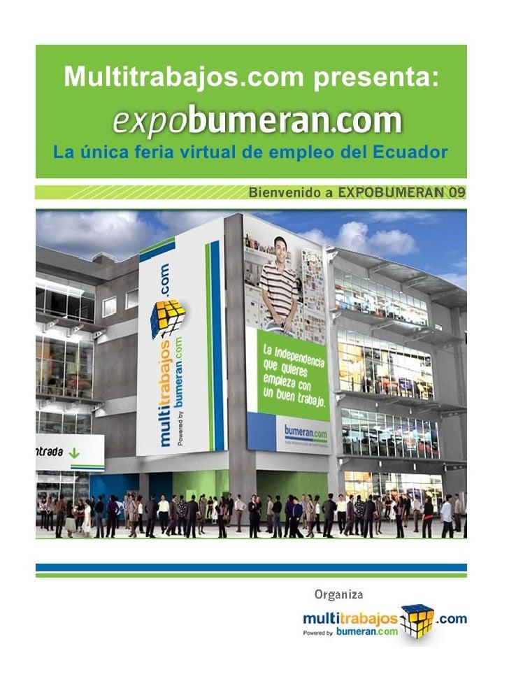 Expobumeran Ecuador