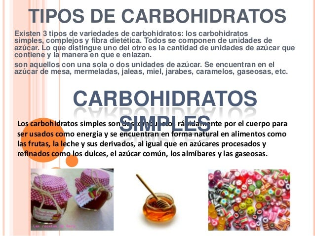 Carbohidratos for Tipos de mobiliario urbano pdf