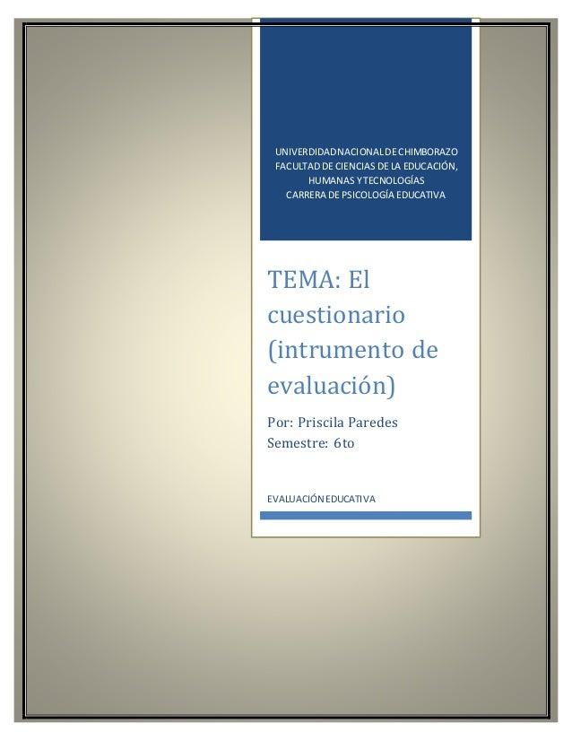 UNIVERDIDADNACIONALDE CHIMBORAZO FACULTAD DE CIENCIAS DE LA EDUCACIÓN, HUMANAS Y TECNOLOGÍAS CARRERA DE PSICOLOGÍA EDUCATI...