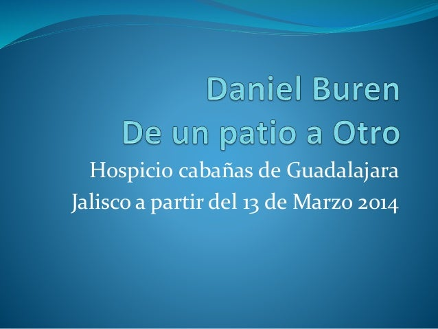 Expo Daniel Buren Hospicio Cabañas Guadalajara jalisco