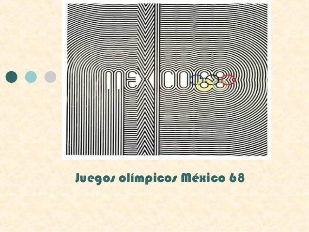 Juegos olímpicos México 68