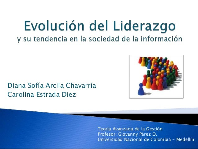 Exposición Evolución del liderazgo