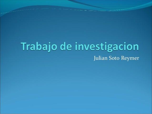 Julian Soto Reymer