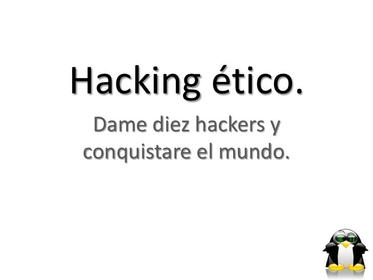 Expo hacking etico