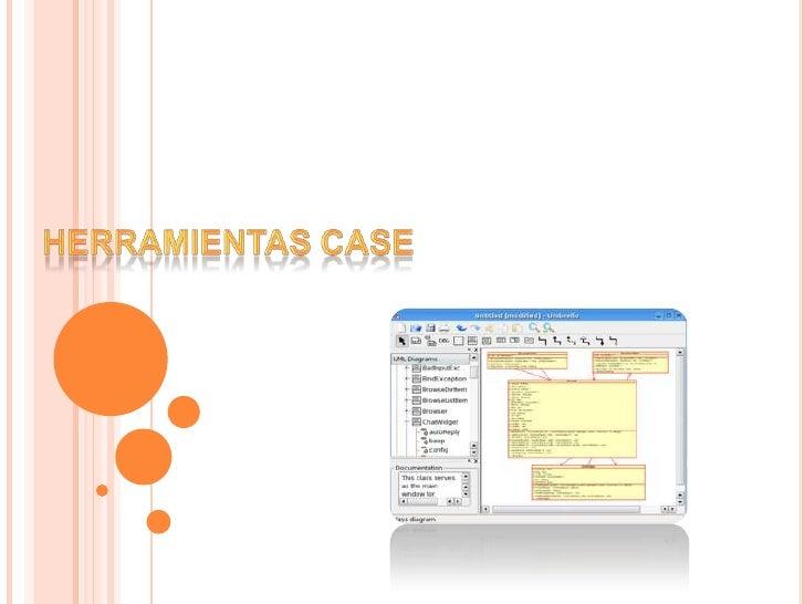 HERRAMIENTAS CASE<br />