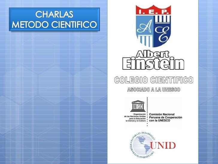 COLEGIO CIENTIFICO                             ASOCIADO A LA «UNESCO»                                            UNESCO Pa...