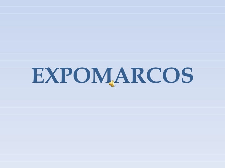 EXPOMARCOS