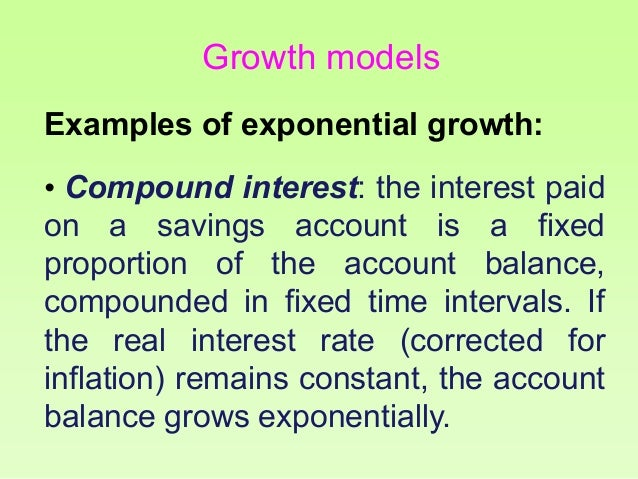 Exponential Function Examples Examples of Exponential