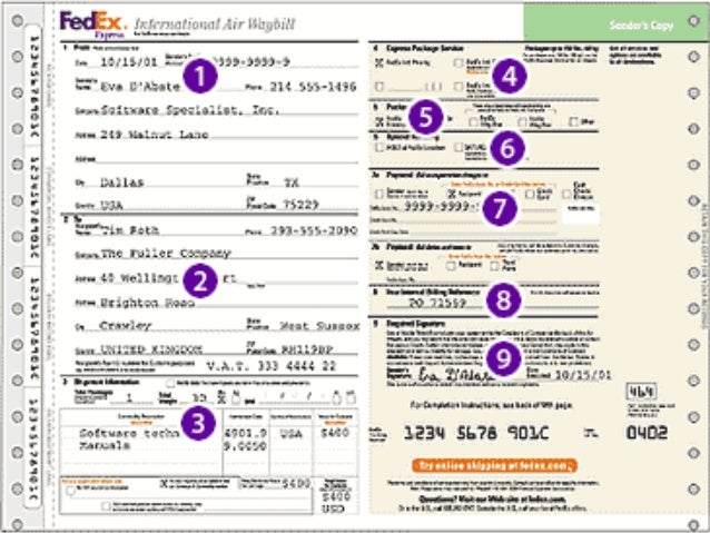 Fedex International Air Waybill Tracking. Fedex. Free Image About ...
