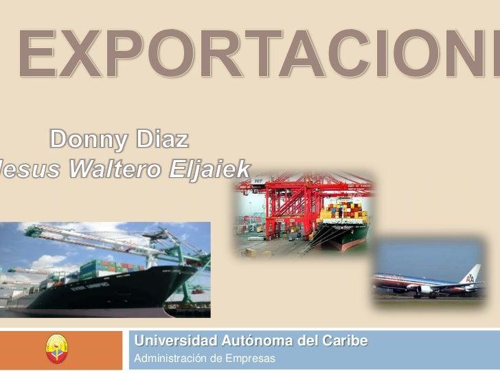 Exportaciones...