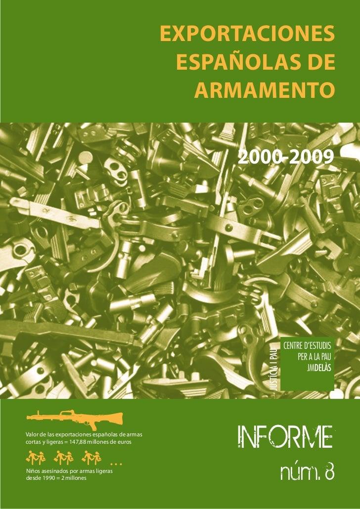 Exportaciones españolas de armamento