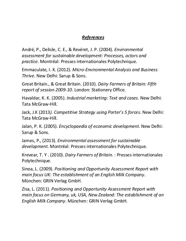 Ensure environmental sustainability essay