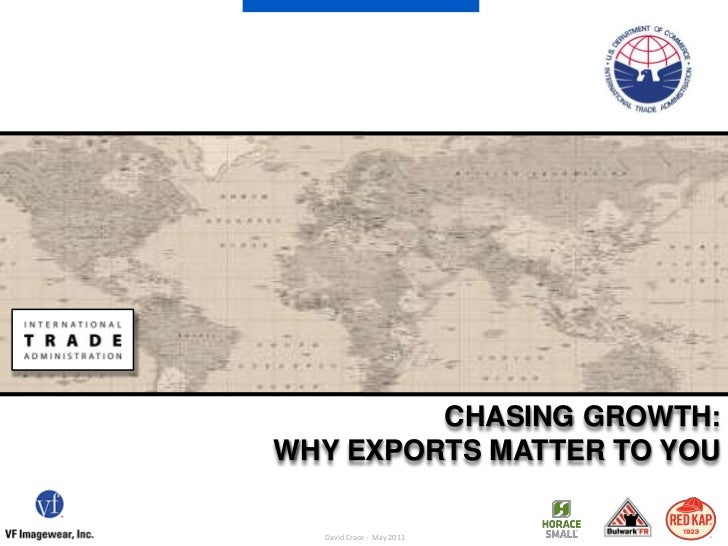 Chasing growth: Why Exports matter to you<br />