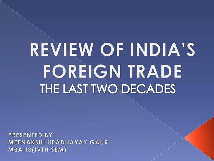 indian exim policy s objectives and provisions Highlights of the foreign trade policy 2015-2020 india with a view to qualify for preferential with the objective to reduce.
