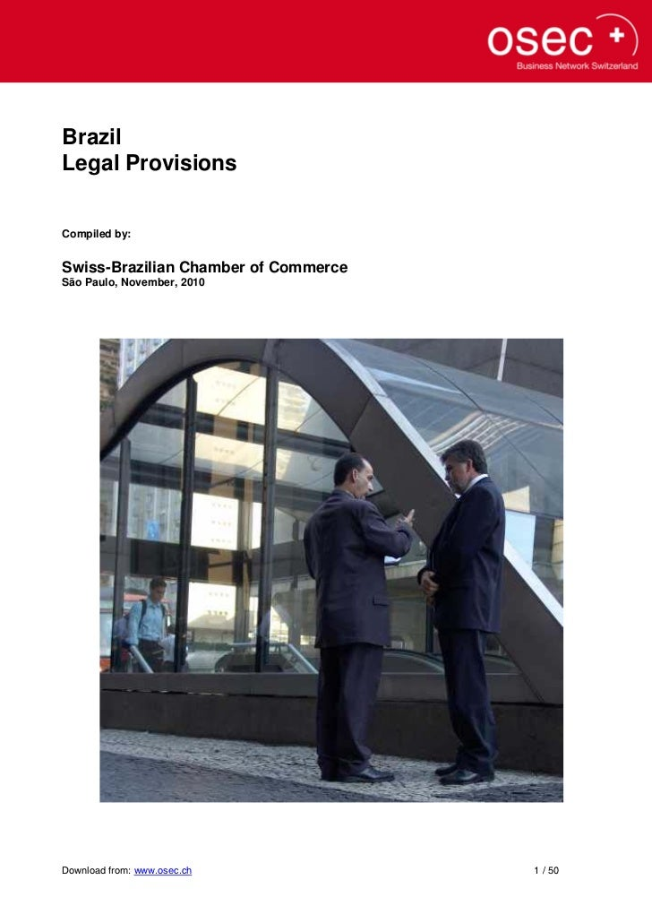 Exports Brazil - Export Legal Information Guide
