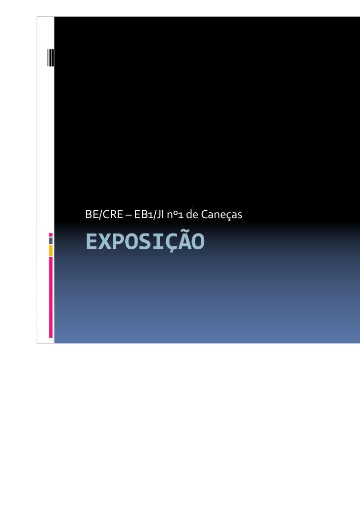 BE/CRE – EB1/JI nº1 de Caneças