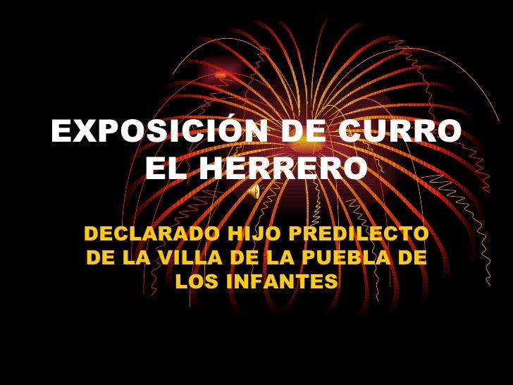 ExposicióN De Curro El Herrero
