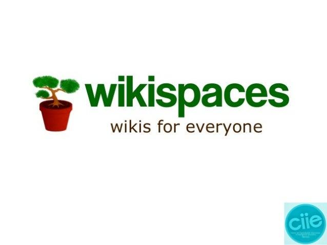 Exposición3 crear una wiki en wikispaces