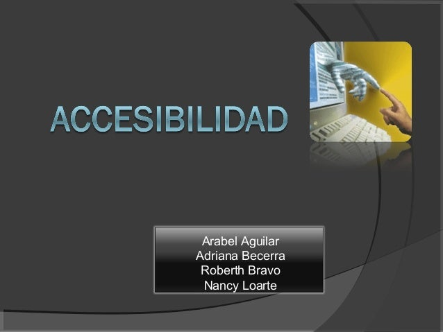 Arabel Aguilar Adriana Becerra Roberth Bravo Nancy Loarte