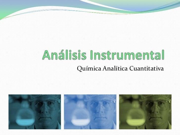 Química Analítica Cuantitativa