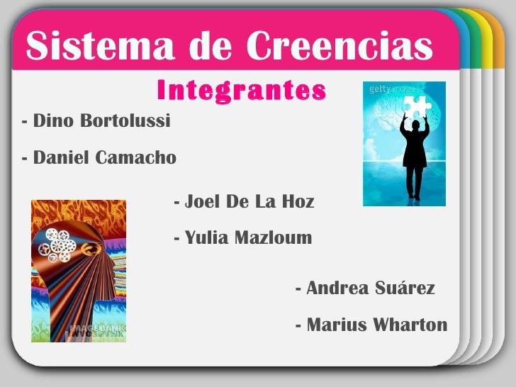 Sistema de Creencias- Dino Bortolussi                    WINTER               Integrantes                      Template- D...