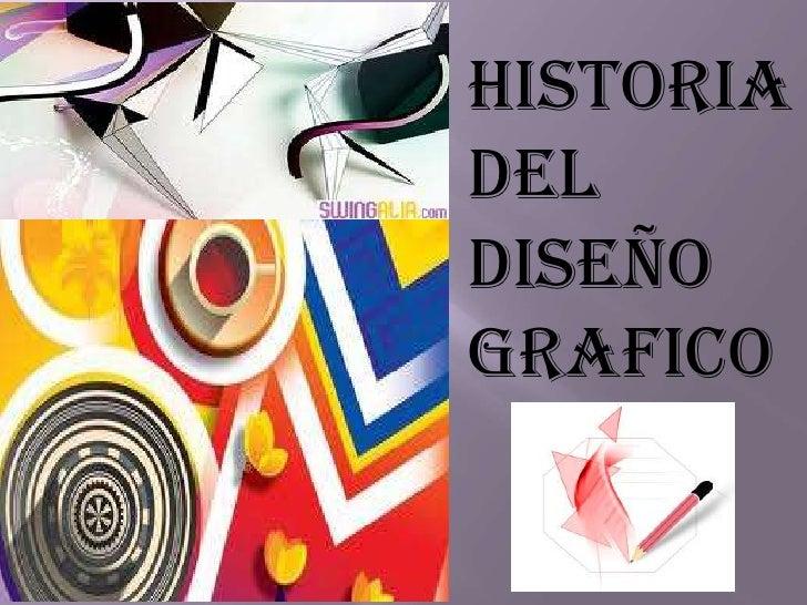 Historiadeldiseñografico