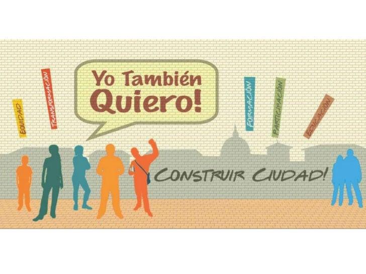 ¿Qué es?Proceso juvenil legitimo de construcción yconcertación con grupos, colectivos einiciativas individuales   juvenile...