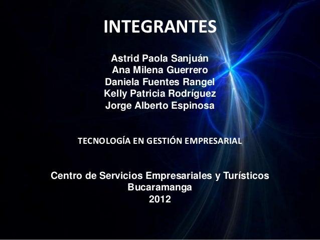 INTEGRANTES            Astrid Paola Sanjuán            Ana Milena Guerrero           Daniela Fuentes Rangel           Kell...
