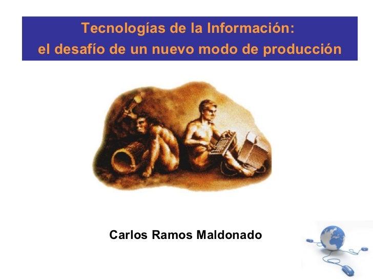 Exposición sociedad de la información