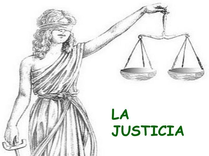 Worksheet. La Justicia  Qu es la Justicia