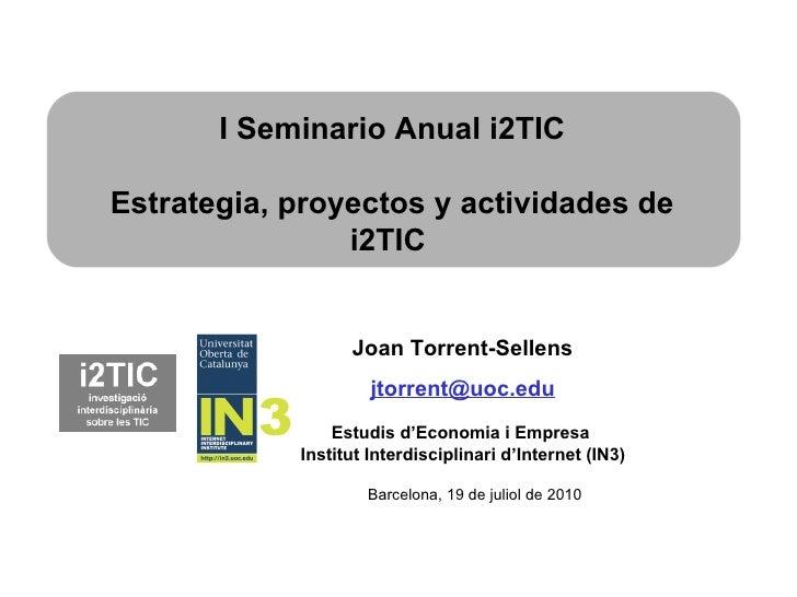 What's i2TIC?