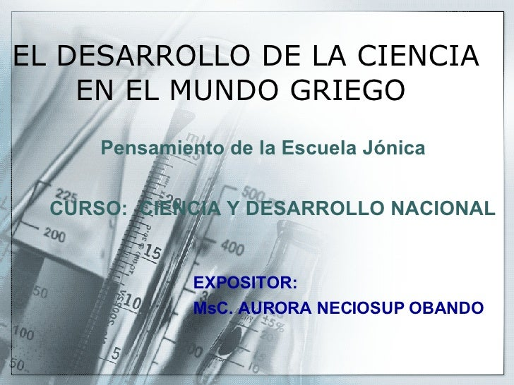 Exposicion De Escuela Jonica
