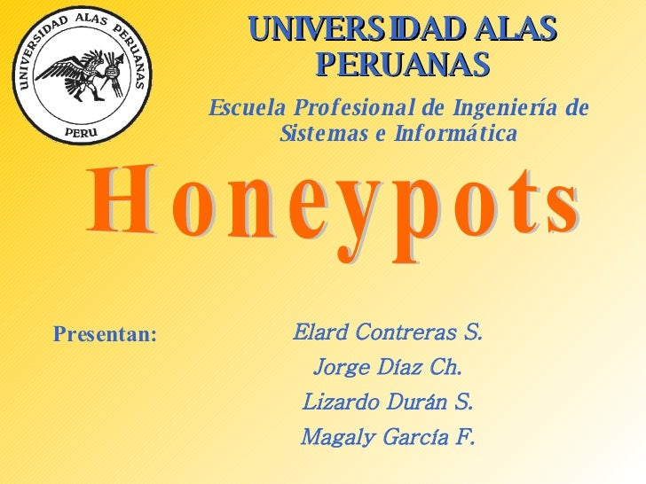 UNIVERSIDAD ALAS PERUANAS Escuela Profesional de Ingeniería de Sistemas e Informática Presentan: Elard Contreras S. Jorge ...