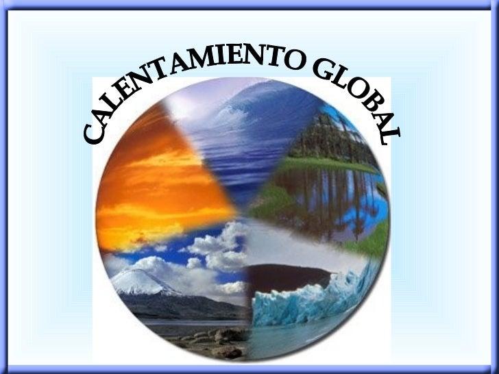 Exposicion calentamieento global
