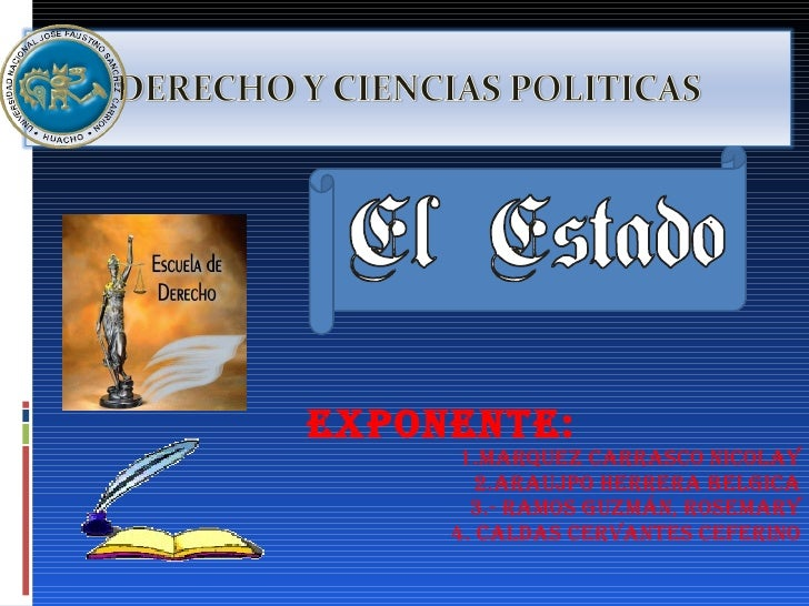 Exposicion ciencia politica final