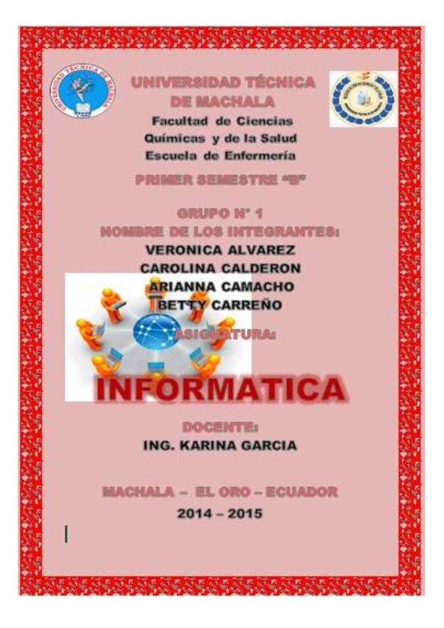 """UNIVERSIDAD TECNICA DE MACHALA UNIDAD ACADEMICA DE CIENCIAS QUIMICAS DE LASALUD CARRERA DE ENFERMERIA INTRODUCCIÓN """"Hablar..."""