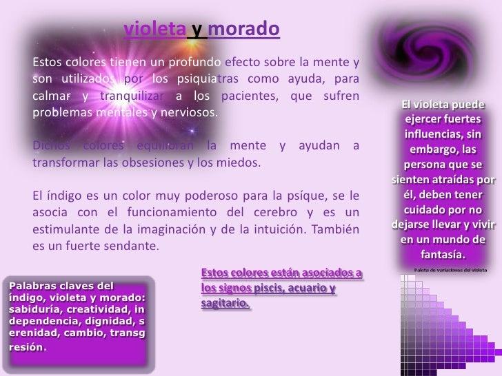 Exposicion del color violeta y negro - Gama de colores morados ...