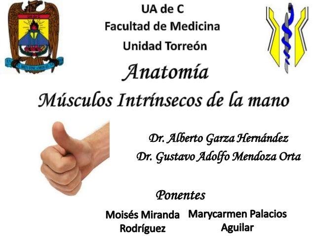 Dr. Alberto Garza HernándezDr. Gustavo Adolfo Mendoza Orta   Ponentes