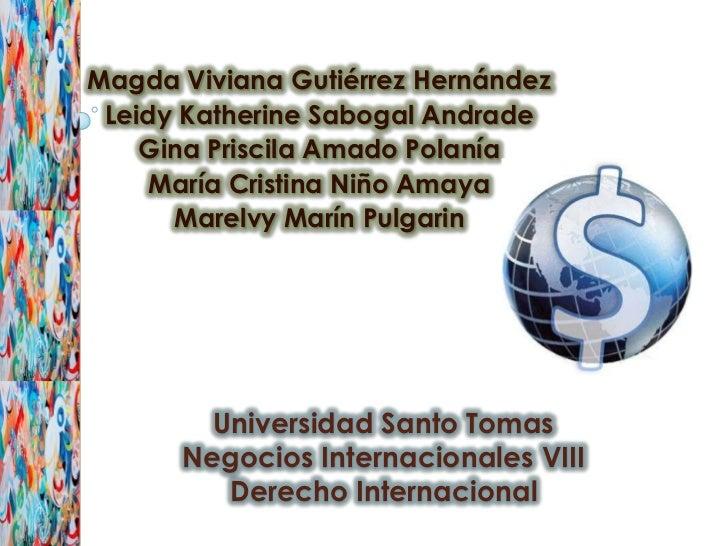 Magda Viviana Gutiérrez Hernández Leidy Katherine Sabogal Andrade    Gina Priscila Amado Polanía     María Cristina Niño A...